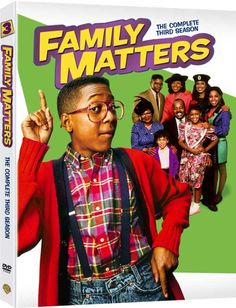 Family Matters - High-Res 3D Packaging Pic for 'The Complete 3rd Season' DVDs