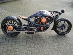 Out of the Netherlands this is one amazing looking motorcycle from the guys at Thunder Alley.