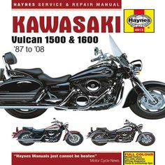 If you own a kawasaki bike and wish to perform anything from routine haynes service repair manual kawasaki vulcan 1500 1600 87 to 08 fandeluxe Choice Image