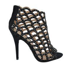 Duran Cut Out Bootie Shoe Warehouse, Pumps Heels, Designer Shoes, Booty, Sandals, Shopping, Women, Fashion, Moda
