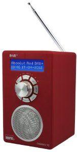 Imperial DABMAN 10 - Tragbares DAB-Radio - Bordeaux Red by DigitalBox. $85.60