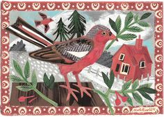 St. Jude's regular (and designer of our Doveflight textile) Mark Hearld is exhibiting in London from 5th-24th December at Potterton …