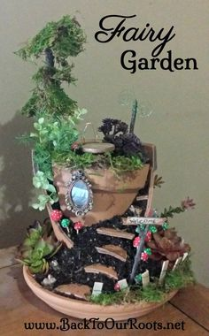 How To Make Your Very Own Fairy Garden
