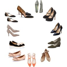 """""""Classic Clothing Personality Style (Shoes)"""" by silhouetteimage on Polyvore"""