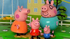 Peppa pig play doh muddy puddles English episodes 2015 peppa pig toys pl...