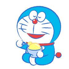 Doraemon's Moving Summer Vacation by Fujiko-Pro Doremon Cartoon, Cartoon Stickers, Cartoon Characters, Steven Universe Lapis, Chibi Food, Cute Messages, Cute Emoji, Line Sticker, Doraemon