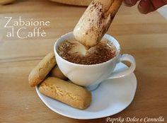 Lo Zabaione al Caffè mi fa letteralmente impazzire!!!! Mi piace troppo!!! E' una crema dolce, deliziosa, vellutata che si può gustare come merenda, accompa