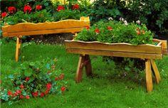 sencillas jardineras
