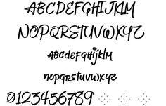 Jeboy font by Aaron Amar  http://www.fontriver.com/font/jeboy/  #handwritten #fonts #typography #type #ttf #design #webdesign #lettering #script