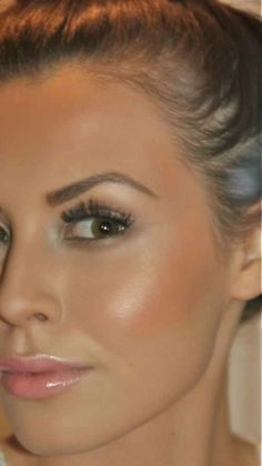 Highlighting the face makes skin look young, healthy, and fresh! I love this but haven't found a great highlighter that isn't glittery, I don't want glitter! Just a subtle shimmer!