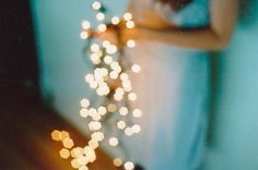 Winter inspiration, have twinkly lights