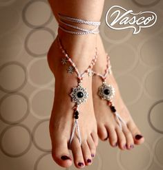 Barefoot Sandals. Hippie Shoes. Gypsy Bellydance Shoes by VascoDesign on Etsy https://www.etsy.com/listing/199139029/barefoot-sandals-hippie-shoes-gypsy
