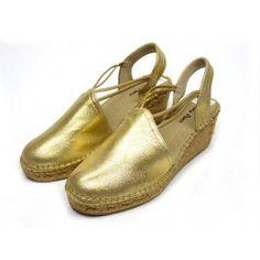 Toni Pons Tobago sandaal - goud #emmenmode