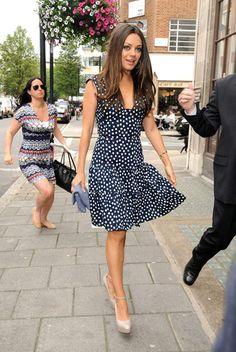 Love this Oscar de la Renta dress