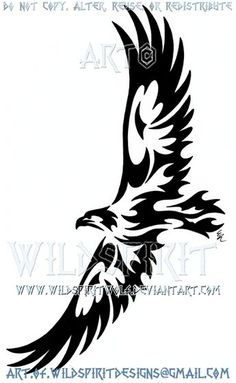 Stencil w-076 Eagle ~ UMR Pared Stencil