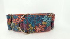 The Reef Dog Collar Martingale Buckle and Tag by dogsbythebay, $19.99