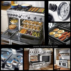 Dream stove by @Thermador Home Appliances Home Appliances