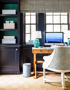 View a Sara Gilbane Interiors's caption on Dering Hall