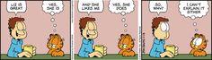 Garfield Comic Strip, November 13, 2015 on GoComics.com