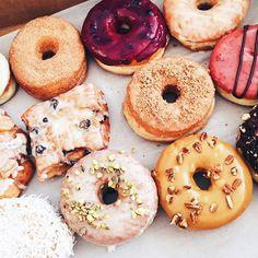Vegan doughnuts from Beechwood.