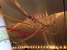 DIY Tutorial for a Wedding Tent for Your Wedding Reception