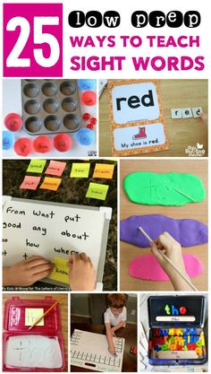 Need sight word acti