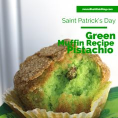 Green Pistachio Recipes 700x700 Saint Patrick's Day Recipe: Green Pistachio Muffin Recipe