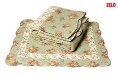 Colcha+ 2 porta travesseiros  Boutis Rositano casal Cód:7891894066226                                                                                                   De:R$ 149,00 Por:R$ 134,00