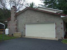 Garage end - notice the brick pattern