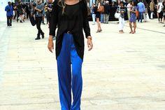 Royal Blue Trousers - BCBG Max Azria