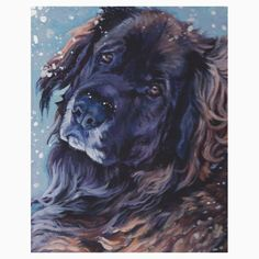 Leonberger Fine Art Painting