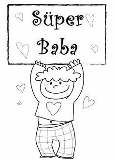 Proverbs 31 Mommy and Wife: Some *cute* Father's Day printable coloring sheets, Free Printable Father's Day Coloring Pages for Kids Boy Coloring, Tree Coloring Page, Coloring Sheets For Kids, Coloring Pages For Girls, Coloring Pages To Print, Colouring Pages, Printable Coloring Pages, Coloring Rocks, Happy Fathers Day Images