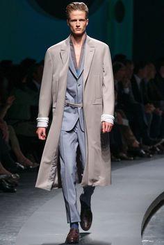 Ermenegildo Zegna Spring 2014 Menswear Fashion Show