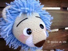 #elganchodelola #hechoamano #amigurumi #crochet #leon