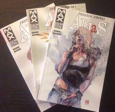 Jessica Jones : Alias Volumes 1,2,3 Bendis Gaydos graphic novel comics
