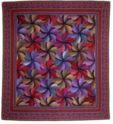 Quilt Gallery – Jinny Beyer Studio Colchas Quilting, Quilting Designs, Quilting Ideas, Patchwork Patterns, Quilt Patterns, Block Patterns, Beginning Quilting, Bargello Quilts, Patriotic Quilts