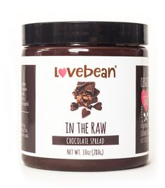 Love Bean In the Raw Superfood Chocolate Spread
