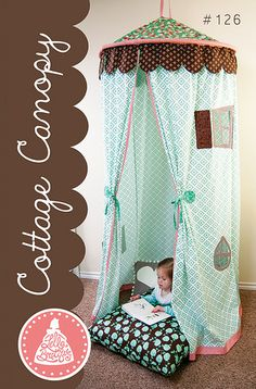 Into the Woods by our new designer Vanessa Goertzen of Lella Boutique - Cottage Canopy # 126