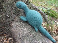 Loch Ness monster plush Nessie stuffed animal by iFeltFanciful
