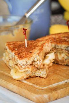Fried Maple PB 'Bacon' Sandwich