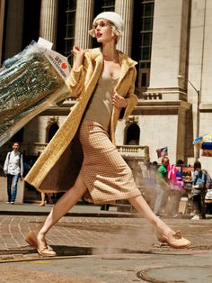 Head Strong: Hilary Rhoda by Giampaolo Sgura for Allure US September 2015 - Max Mara Fall 2015