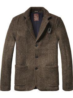 Blazer classic knit | midseason Jackets | Scotch & Soda Clothing Man