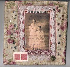 Fabric journal Gunnel Svensson