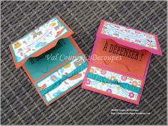 CoupesEtDecoupes - Stampin'Up Independant Demonstrator Paris (France) - Blog Hop SU France June 2016 - Festive Birthday Designer Series Paper - Gift Card Holder