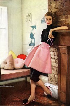 1951 #fashion Charm Magazine