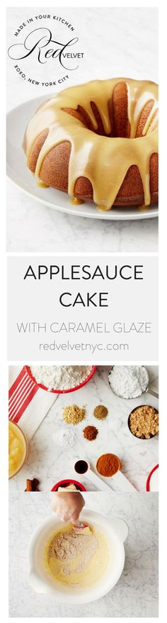 Recipe by Merrill Stubbs, Co-Founder of Food52 This applesauce cake is a fall and winter classic. Perfumed with spices like ginger, allspice, and a kick of pepper, it's sure to keep you warm. Plus, it