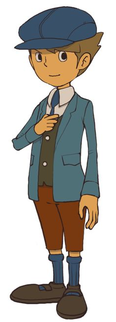 Professor Layton and the Unwound Future: Clive