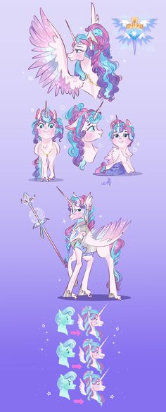 Princess Flurry Heart-NG by BunnAri on DeviantArt My Little Pony Characters, Mlp Characters, My Little Pony Comic, My Little Pony Drawing, Goth Disney Princesses, Flurry Heart, Baby Pony, Nightmare Moon, Little Poni