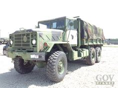 Surplus 1990 BMY M923A2 5 Ton 6x6 Cargo Truck in Fort Riley, Kansas, United States (GovPlanet Item #555616)