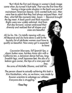 Woman's Body Image -Tina Fey